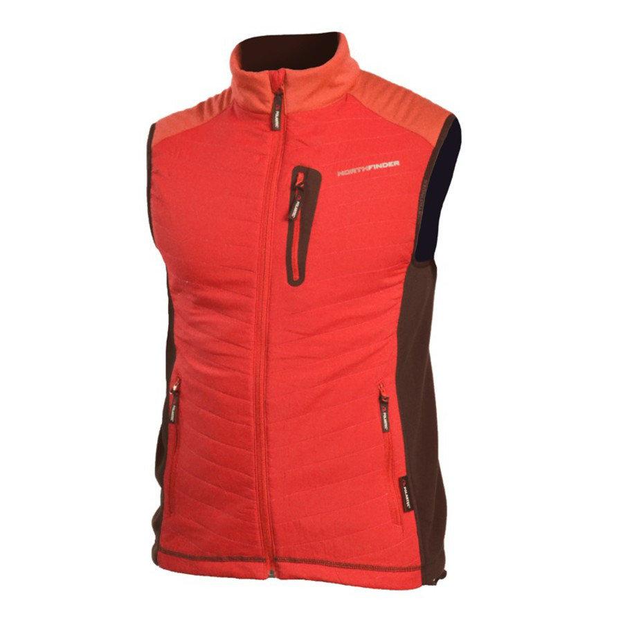 Červená pánská vesta NorthFinder