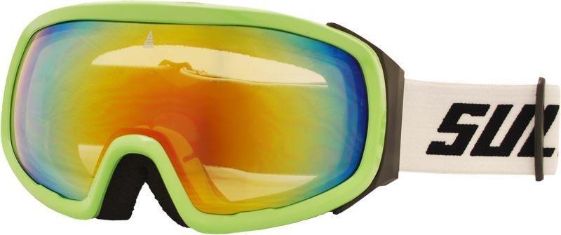 Zelené lyžařské brýle Sulov