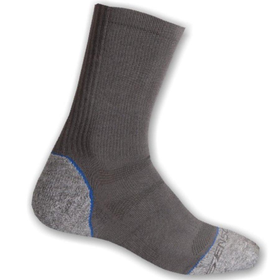 Modro-šedé pánské trekové ponožky Hiking, Sensor - velikost 35-38 EU