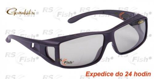 Polarizační brýle - Gamakatsu® Over Glass Light Green / Blue