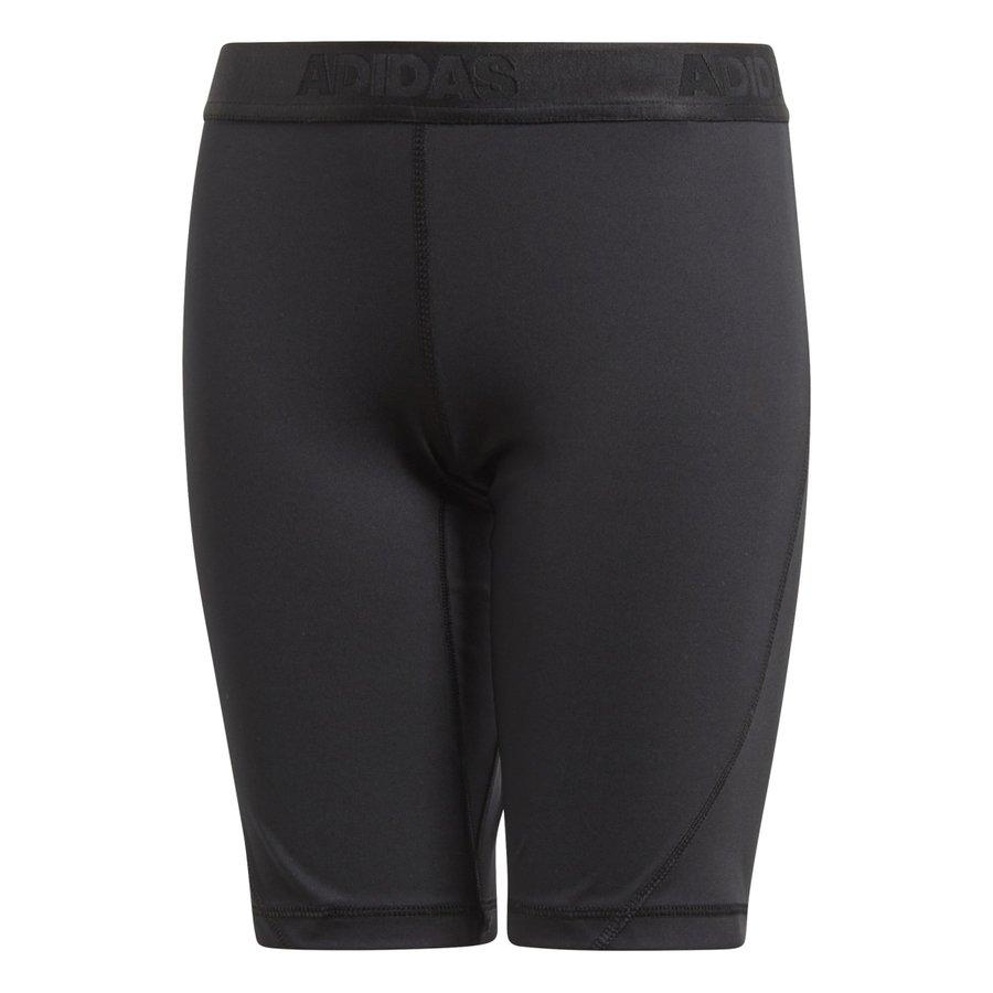 Černé dětské dívčí legíny Adidas - velikost 116