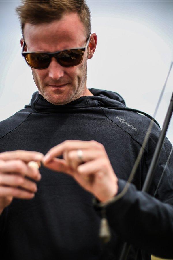 Černá pánská rybářská mikina Korda