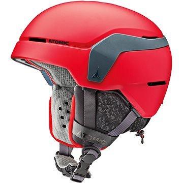 Červená dětská lyžařská helma Atomic - velikost 51-55 cm