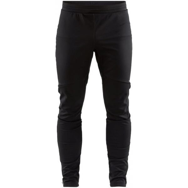 Černé softshellové pánské kalhoty Craft