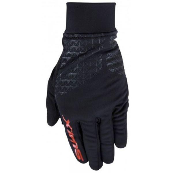 Černé pánské rukavice na běžky Swix - velikost XL