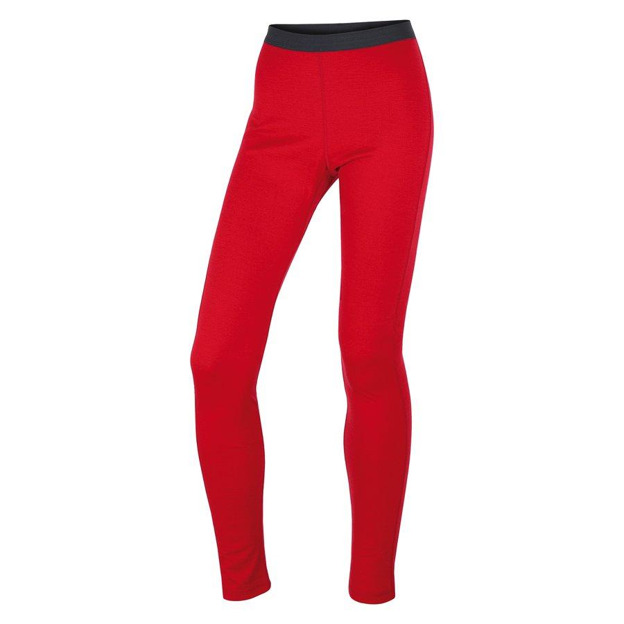 Červené dámské termo kalhoty Husky - velikost M