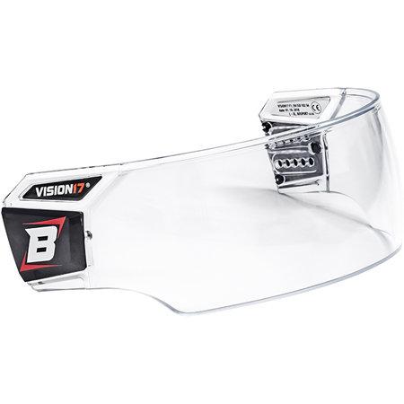 Plexi na hokejovou helmu - Plexi Bosport Vision17 Pro B1 Box čirá (průhledná)