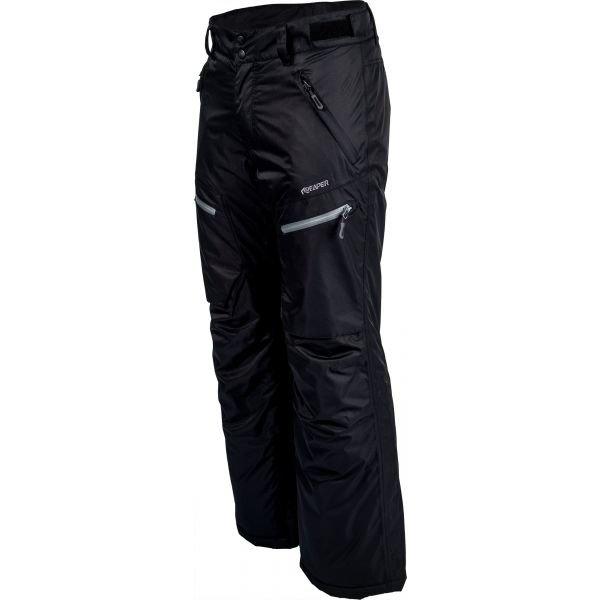 Černé pánské snowboardové kalhoty Reaper