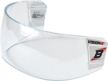 Plexi na hokejovou helmu - Plexi Bosport Vision16 Pro F2 Box čirá (průhledná)