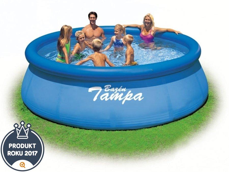 Nadzemní nafukovací kruhový bazén Marimex - průměr 366 cm a výška 91 cm
