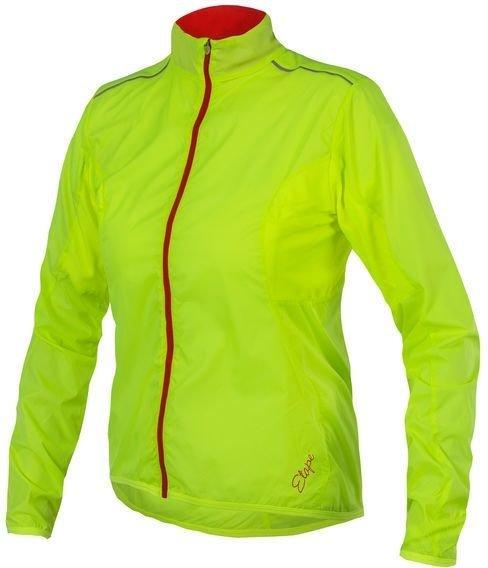 Žlutá dámská cyklistická bunda Etape