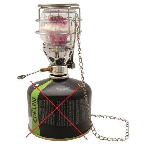 Plynová lampa MIL-TEC