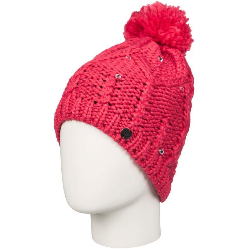Růžová zimní čepice Roxy - univerzální velikost