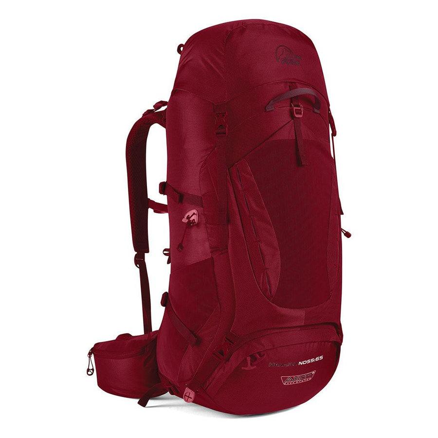 Batoh - Dámský batoh Lowe Alpine Axiom 5 Manaslu ND 55:65 Barva: červená