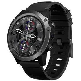 Černé chytré hodinky G-Track 4G, Carneo