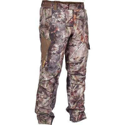 Hnědé zimní lovecké kalhoty Solognac