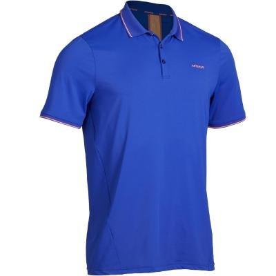 Modré pánské tenisové tričko Artengo