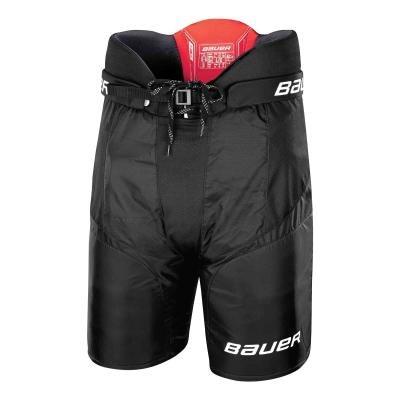 Černé dětské chlapecké nebo dívčí hokejové kalhoty Bauer - velikost L