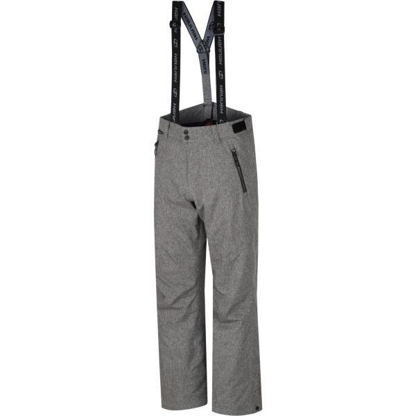 Šedé pánské lyžařské kalhoty Hannah