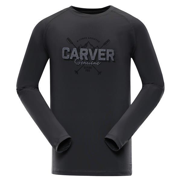 Černé pánské funkční tričko Alpine Pro - velikost 3XL