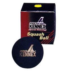 """Černý míček na squash """"žlutá tečka"""" ProKennex - 1 ks"""