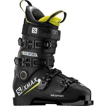 Černé pánské lyžařské boty Salomon