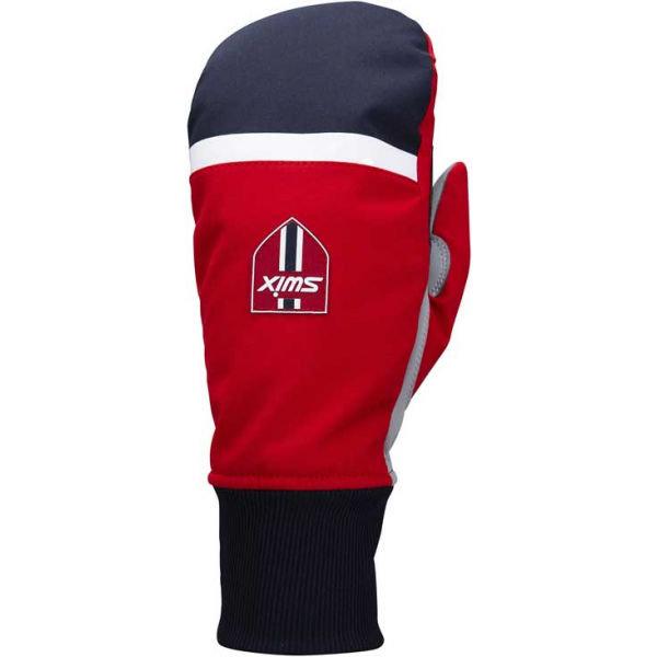 Bílé rukavice na běžky Swix - velikost 6