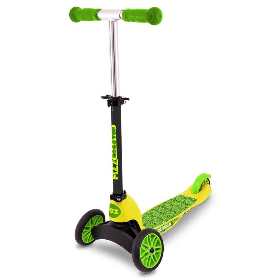 Černo-zelená dětská koloběžka Flip Mini Evo Croc, Street Surfing - nosnost 50 kg