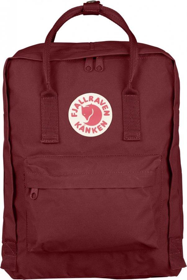 Červený turistický batoh Fjällräven - objem 16 l