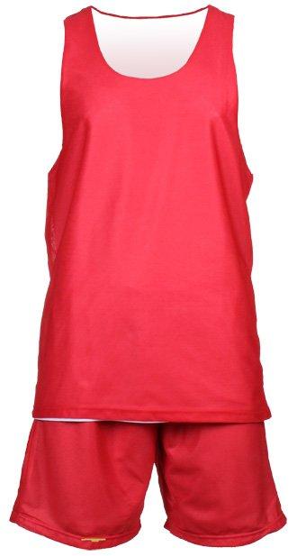 Bílo-červený basketbalový komplet BD-1, Merco