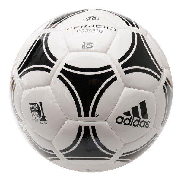 Bílo-černý fotbalový míč Tango Rosario, Adidas - velikost 5