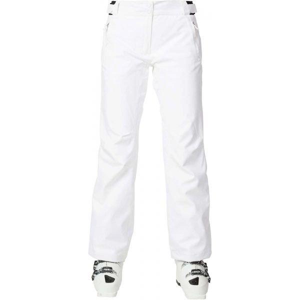 Bílé dámské lyžařské kalhoty Rossignol - velikost XL