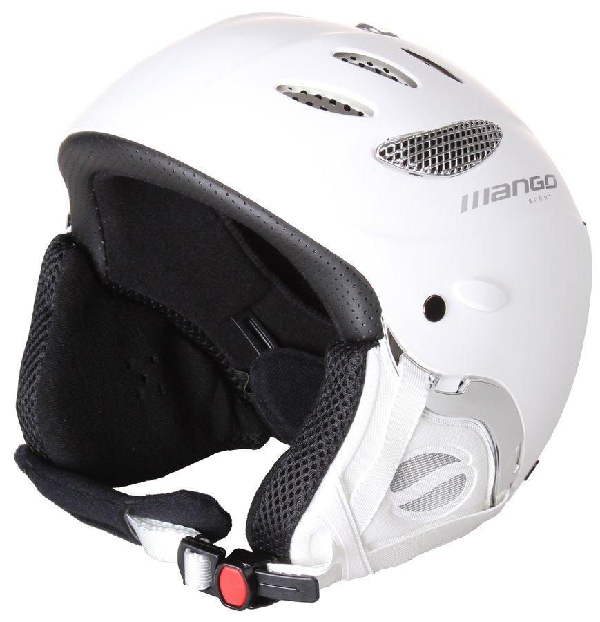 Bílá lyžařská helma Cusna Free, Mango