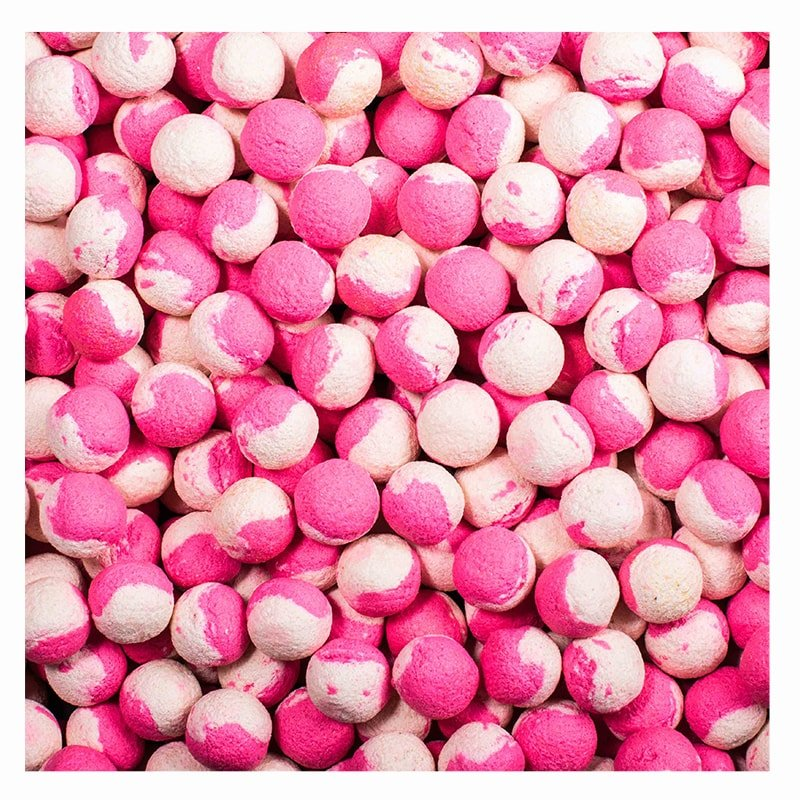 Boilies - LK Baits Boilies DUO X-Tra 1kg - Wild Strawberry/Carp Secret 20mm