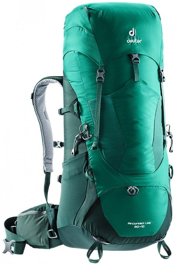 Batoh - Deuter Aircontact Lite 50 + 10 Alpinegreen-forest