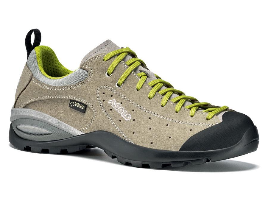 Béžové dámské trekové boty Shiver, Asolo - velikost 38 2/3 EU