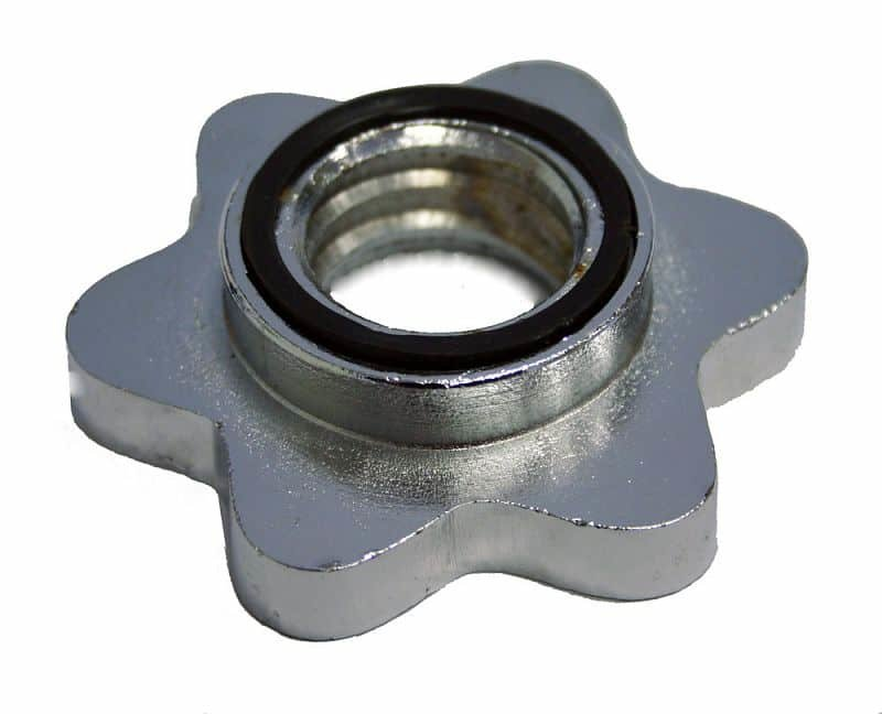 Stříbrná Bezpečnostní objímka pro činky inSPORTline
