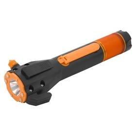 Černo-oranžová svítilna Compass
