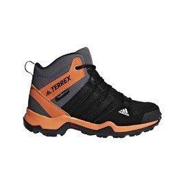 Černé chlapecké nebo dívčí trekové boty Adidas