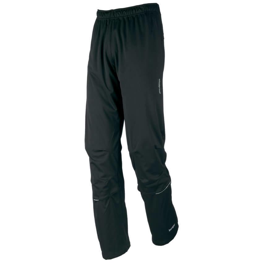 Černé pánské běžecké kalhoty Benger