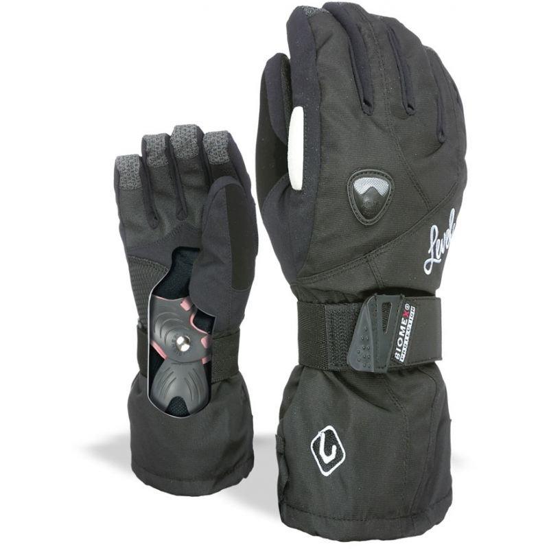 Černé zimní rukavice Level - velikost XS