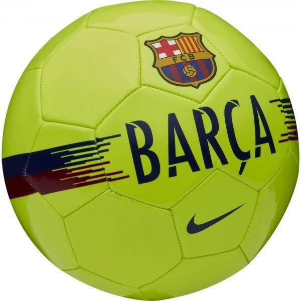 Žlutý fotbalový míč Nike