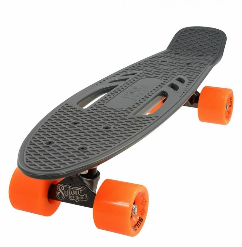 """Pennyboard - Penny board 22"""" CITY šedo-oranžový"""