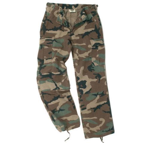 Kalhoty - Kalhoty dámské US BDU rip-stop předeprané WOODLAND