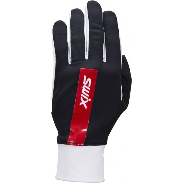 Černé rukavice na běžky Swix - velikost 9