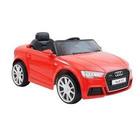 Červené dětské elektrické autíčko Audi A3, Made