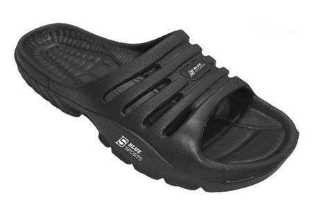 Černé pánské pantofle Blue Sports