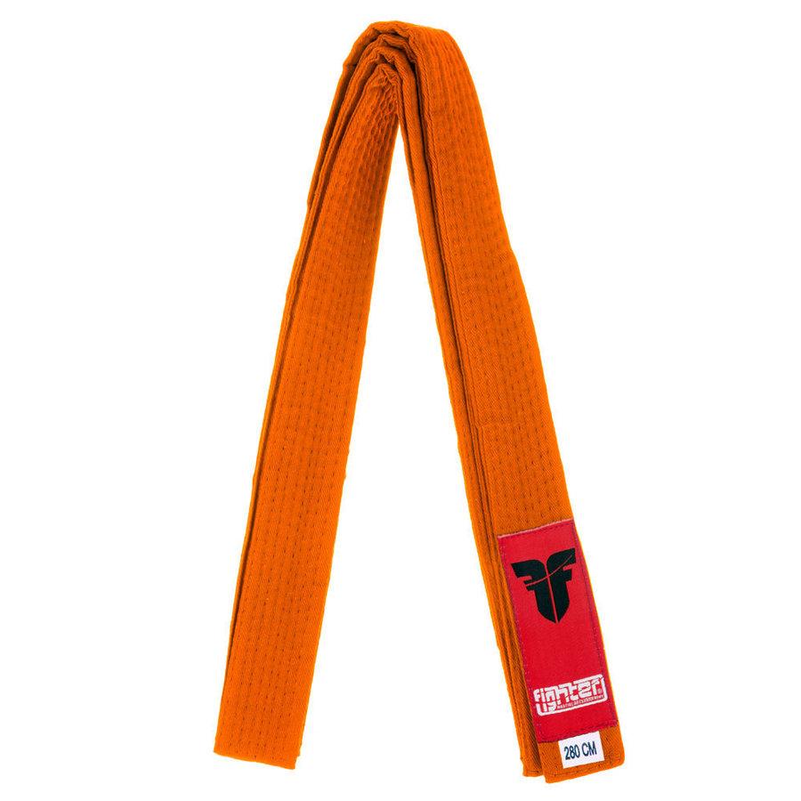 Oranžový judo pásek Fighter