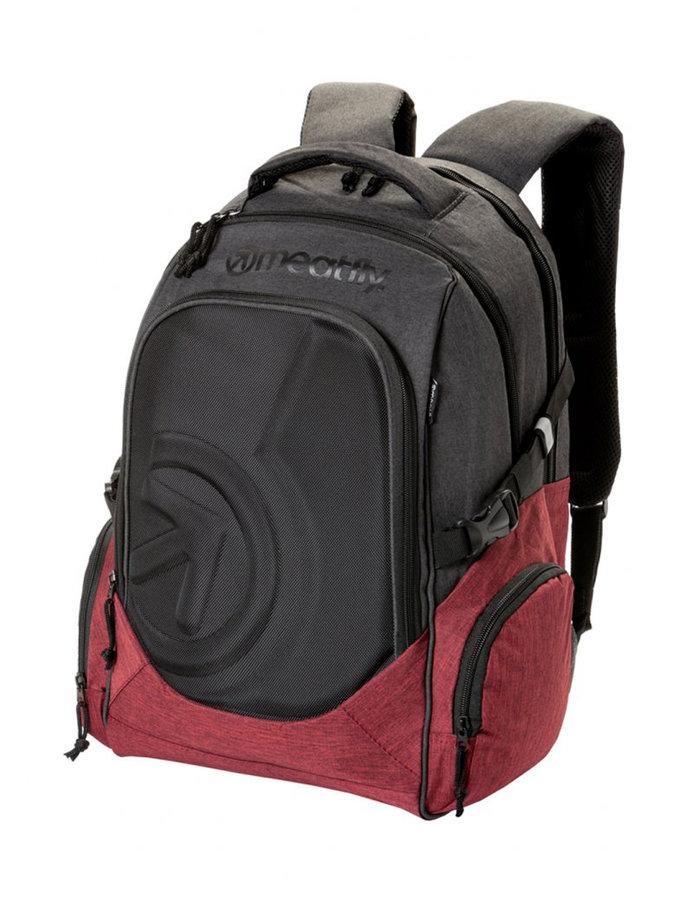 Batoh - Meatfly Blackbird 2 Backpack B - Burgundy, Black Velikost: JEDNOTNÁ VELIKOST