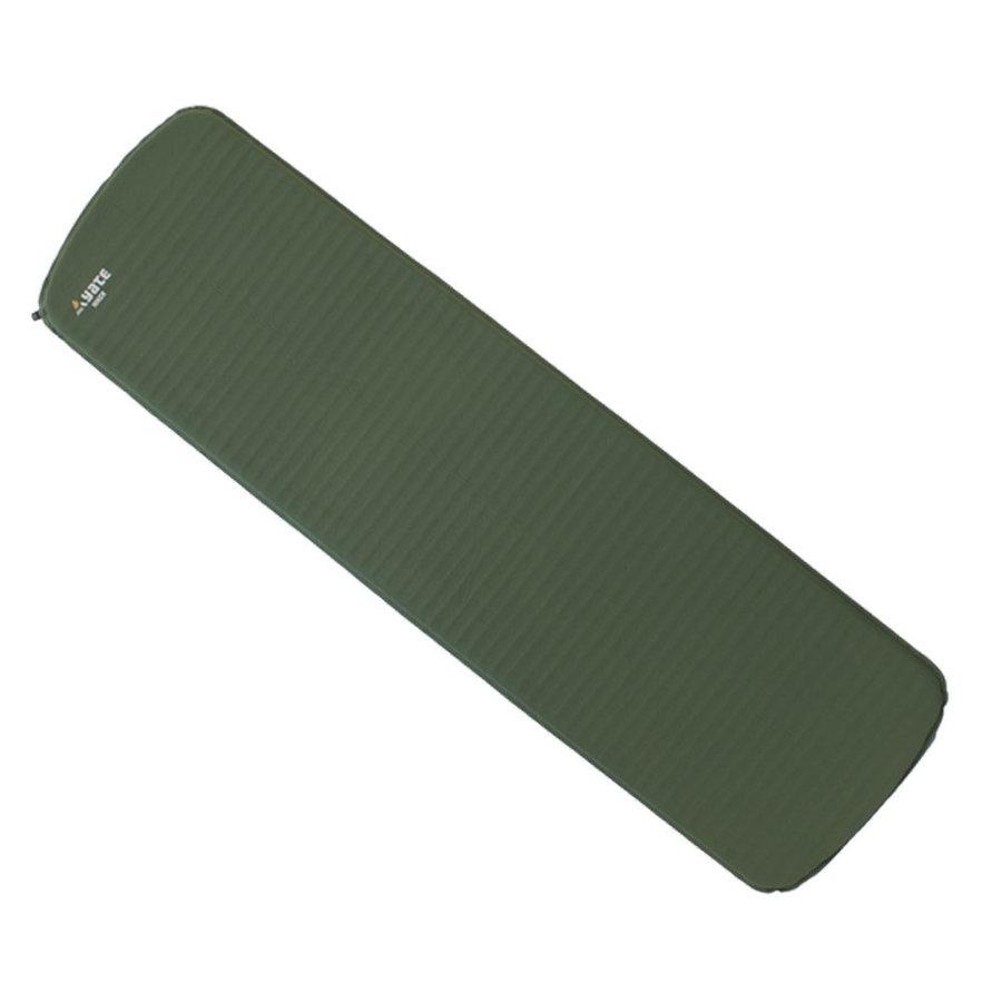 Šedo-zelená samonafukovací karimatka Yate - tloušťka 2,5 cm